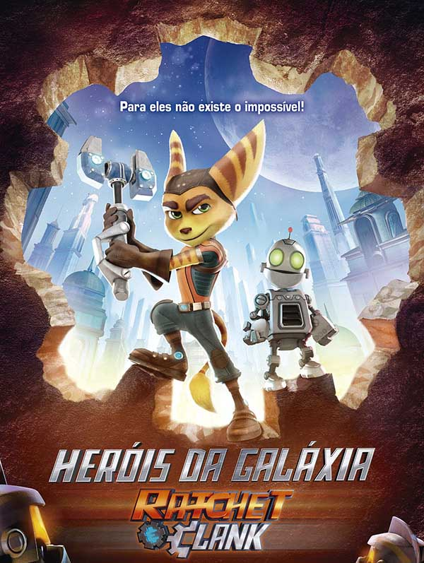 Heróis da Galáxia: Ratchet e Clank 3D Torrent – BluRay 1080p Dual Áudio (2016)