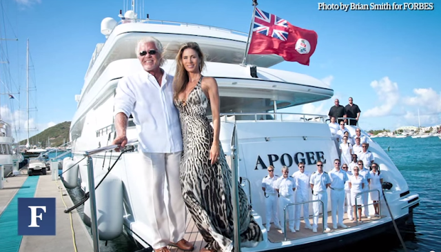 Inside A Billionaire's 205-ft Mega-Yacht
