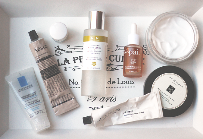 2014 favourite skincare products
