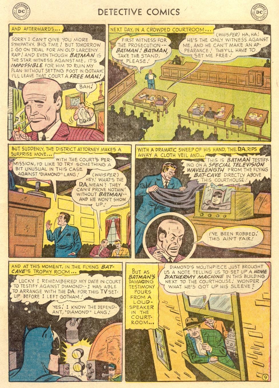 Read online Detective Comics (1937) comic -  Issue #186 - 11