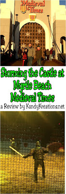Give your kids a trip into the past this holiday season with a trip to the Medieval Times dinner and tournament.  Your family will love stepping into Medieval Times with its delicious food, daring sword fights, and saving the princess.  Check out our review of the Myrtle Beach Castle and discount ticket codes.
