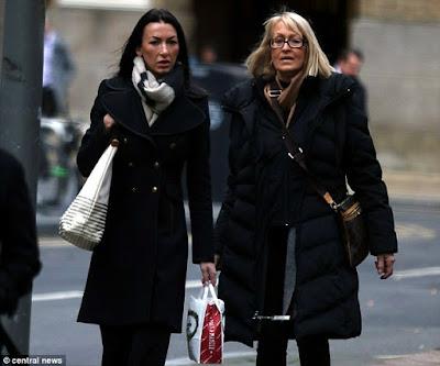 Dianne Moorcroft, 62, and her Model GAUGHTER  Laylah De Cruz, 31