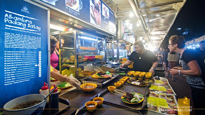 Singapore Food Trip Hawker Makansutra Alhambra Padang Satay