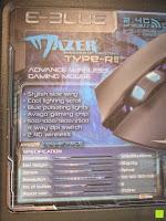 Information: LIHAO E-3lue® MAZER-R EMS152 Gaming Maus kabellos 2.4GHZ 2500DPI, USB, LED