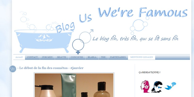Interview - Lô du blog Us We're Famous
