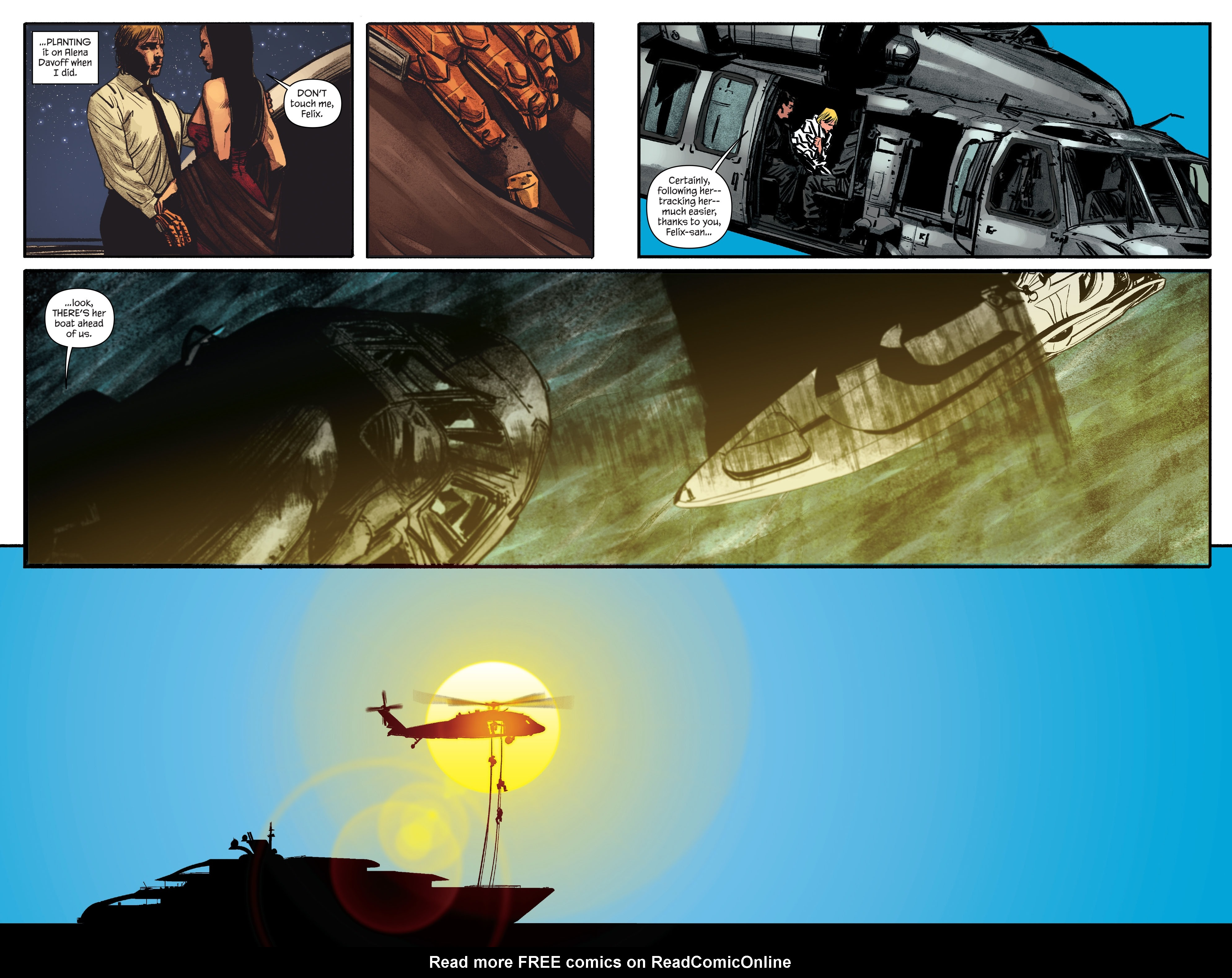 Read online James Bond: Felix Leiter comic -  Issue #6 - 7