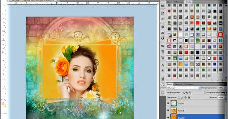 Программа для фотошопа открытки