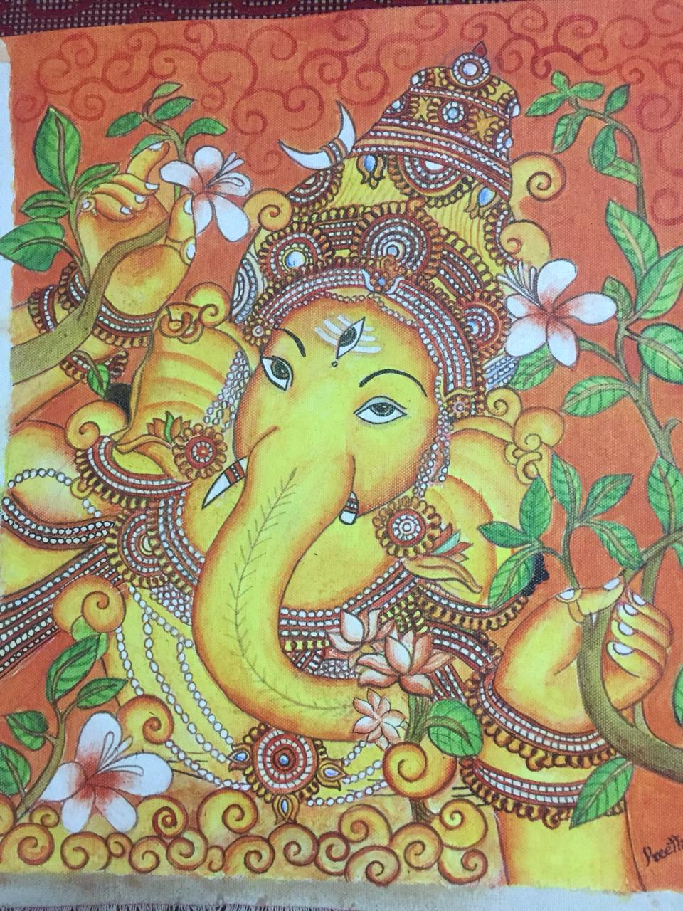 Kerala Style Carpenter Works And Designs September 2013: Ganesha : The Elephant God
