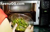 माइक्रोवेव में मसालेदार भिन्डी बनाने की विधि - Masala Bhindi in Microwave