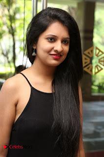 Actress Nikita Bisht Pictures in Black Long Dress at Akritti Elite Exhibition Launch  0009.jpg