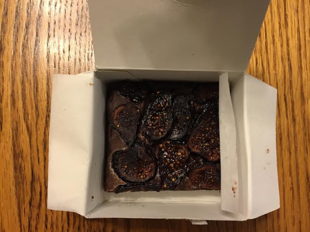 Drunken Fig Brownie Bites from the Oscar Grab Bag.