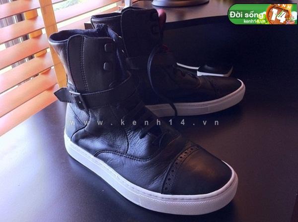 Bộ sưu tập giày sneaker tột đỉnh của anh chàng việt tại mỹ bạn nữ nào cũng m18ê
