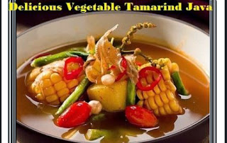 Delicious Vegetable Tamarind Java