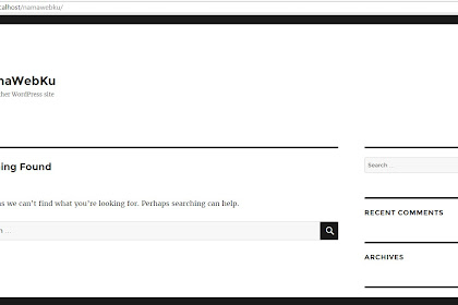 Cara Install Wordpress Offline di PC