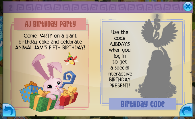 Animal Jam Spirit Blog Lynxes AJs Birthday
