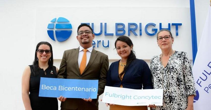 CONCYTEC otorga Beca Bicentenario para estudios de posgrado en Estados Unidos