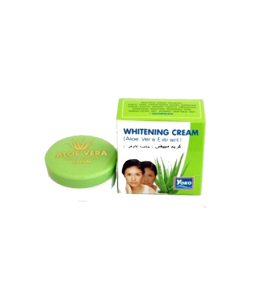 Yoko Aloe Vera Extract Whitening Cream 4 G