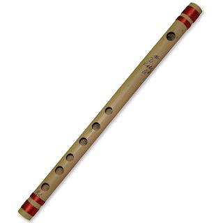 DronaCraft Musical Instrument Bansuri Transverse Bamboo Flute