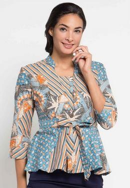 model baju batik terbaru dian pelangi