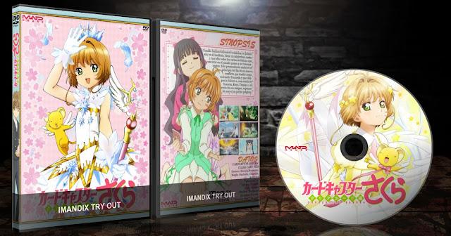Cardcaptor Sakura Clear Card-hen | Vol. 01 & 02 | Cover DVD |