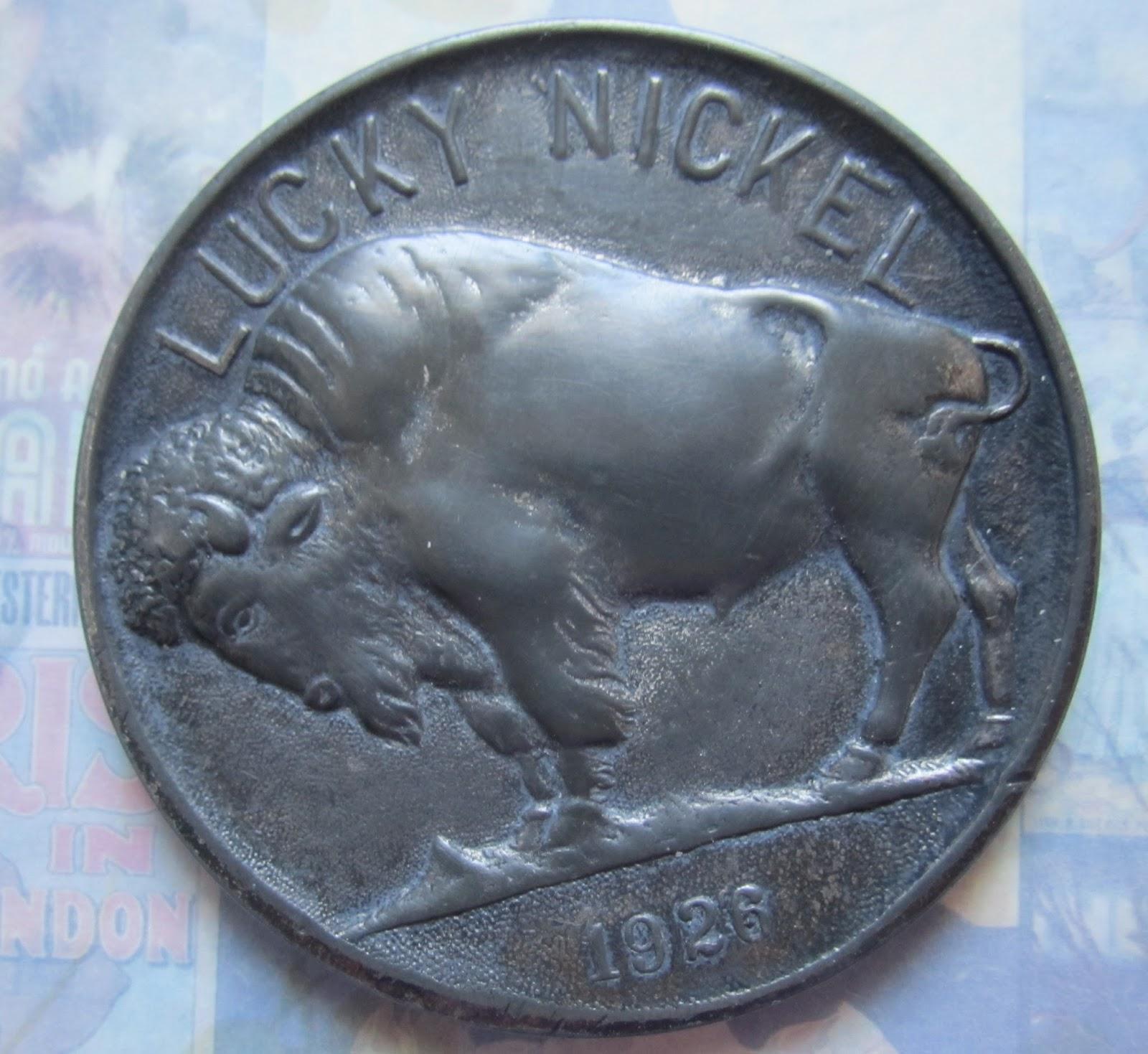 Amazing Casting Products: Lucky Buffalo Nickel!!! AMAZING
