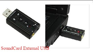 fungsi soundcard eksternal usb