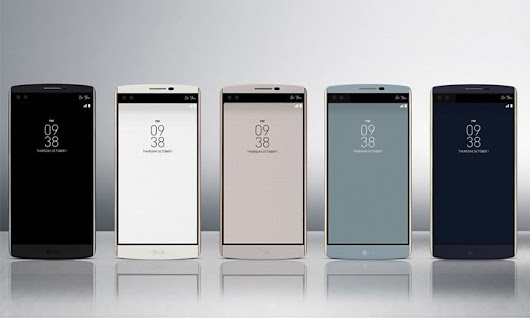 LG's new flagship phone would prove unusual?...