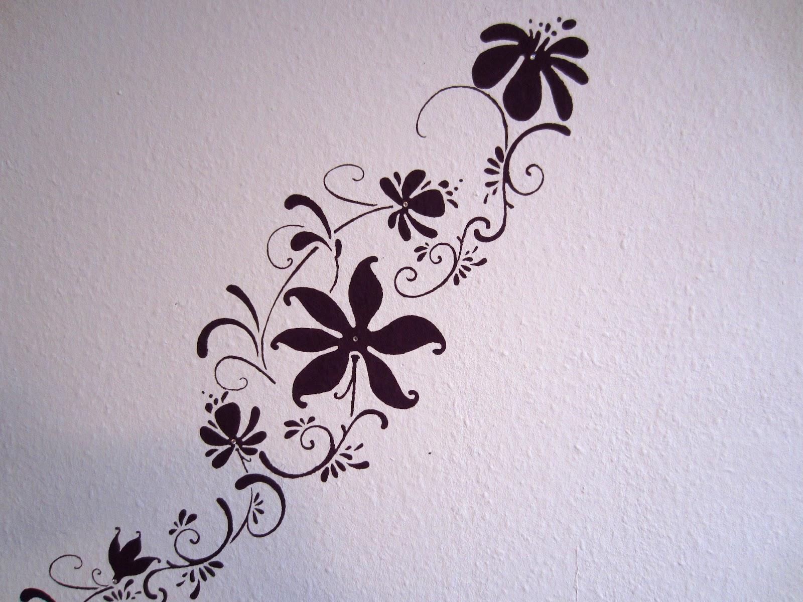 blumen wand selber machen fr hlingsdeko aus holz selber. Black Bedroom Furniture Sets. Home Design Ideas