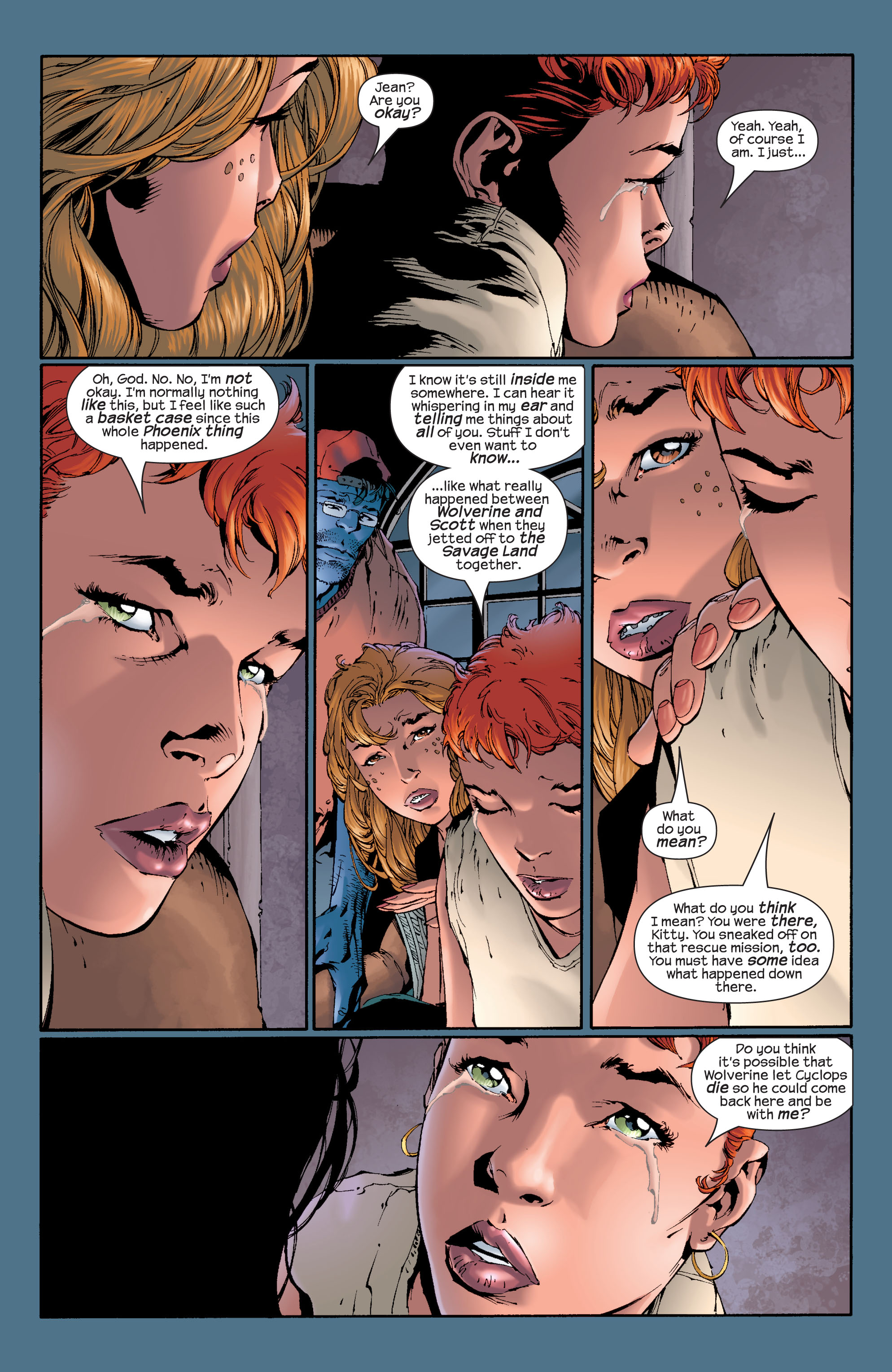 Read online Ultimate X-Men comic -  Issue #28 - 10