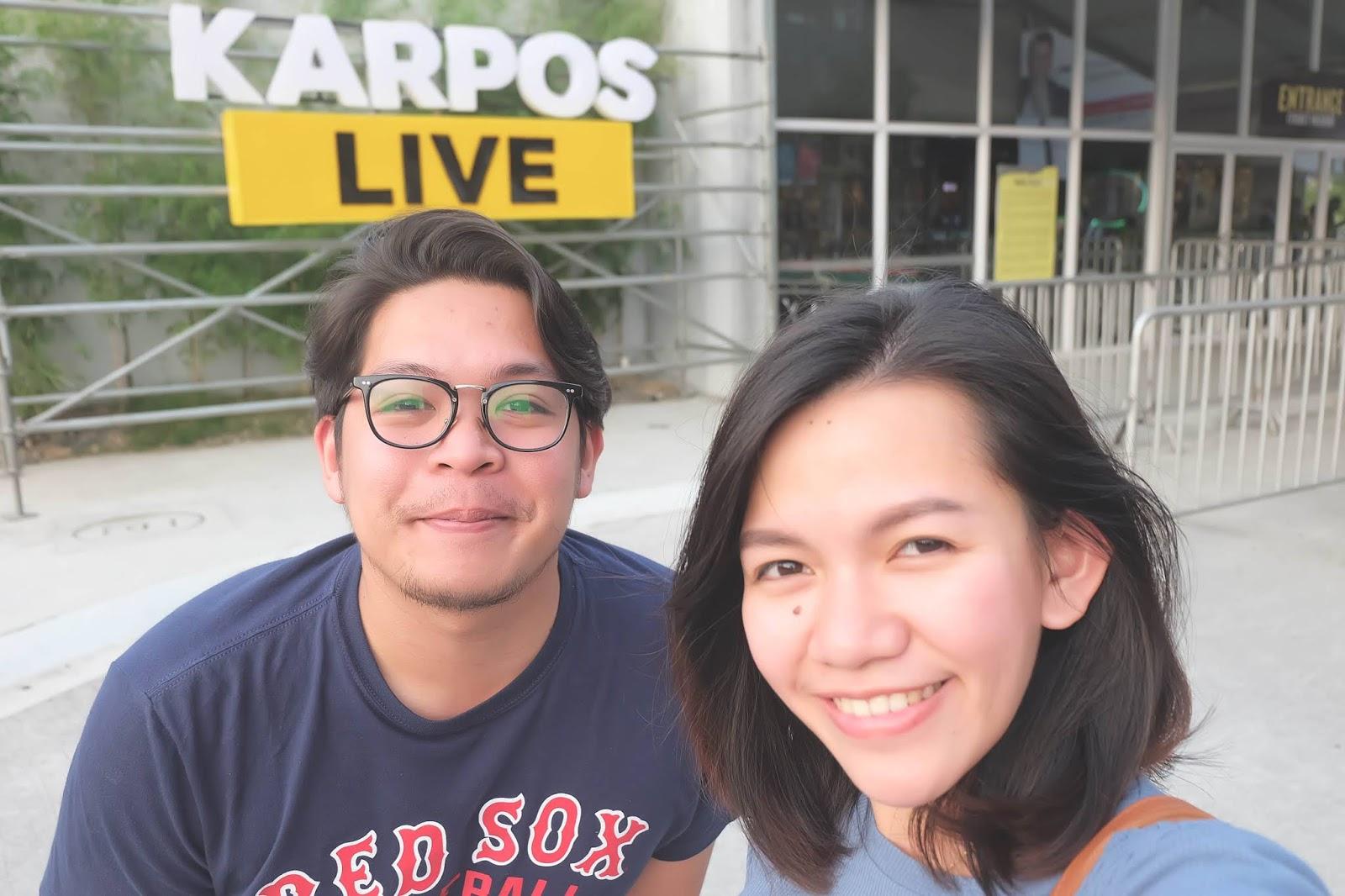 Me & Josh at Karpos Live