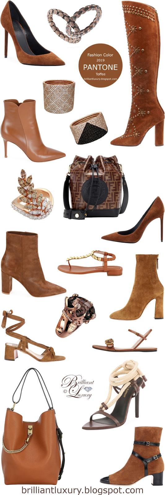 Brilliant Luxury ♦ Pantone Fashion Color ~ Toffee