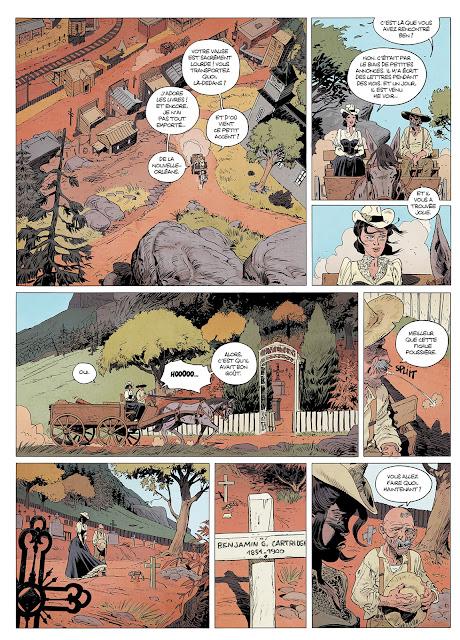 """La Venin tome 1 """"Déluge de feu"""" aux éditions Rue de Sèvres page 15"""