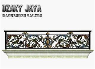 balkon besi tempa klasik, balkon tempa, balkon besi tempa, pagar balkon besi tempa, railing balkon besi tempa, gambar balkon besi tempa
