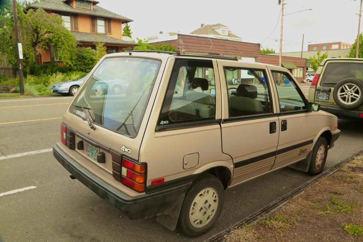 Nissan Stanza Wagon | The Wagon  |1988 Nissan Stanza Wagon 4wd
