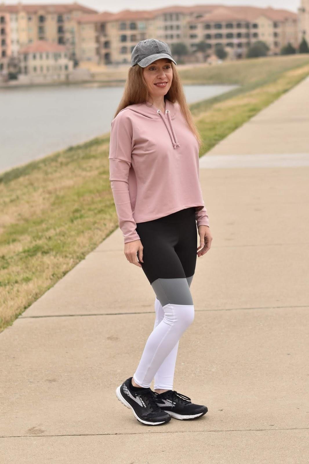 Sewing Colorblocked Athletic Leggings