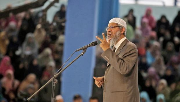 Zakir Naik di Bandung : Khilafah Pasti akan Tegak Karena itu Janji Allah