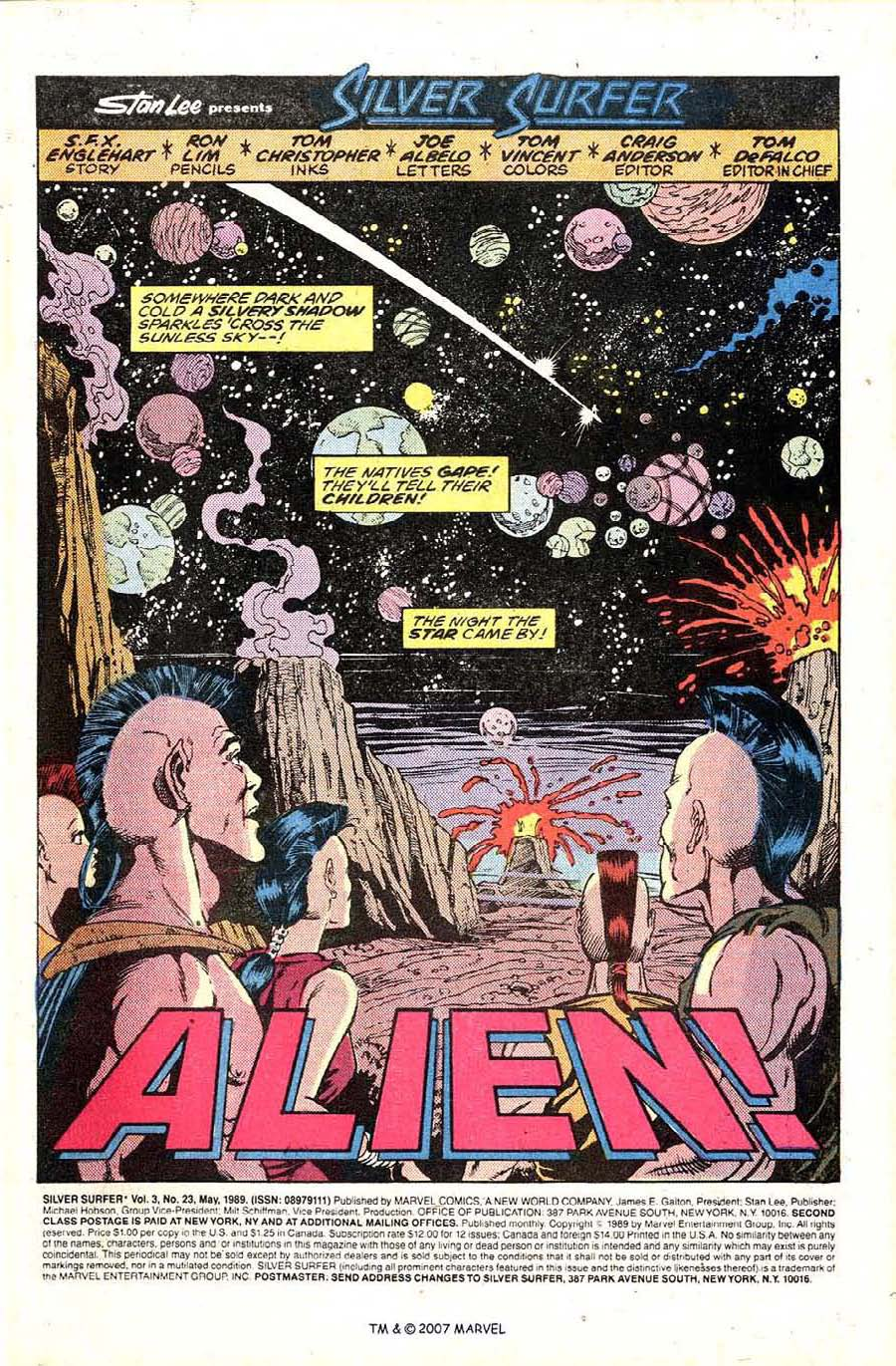 Read online Silver Surfer (1987) comic -  Issue #23 - 3