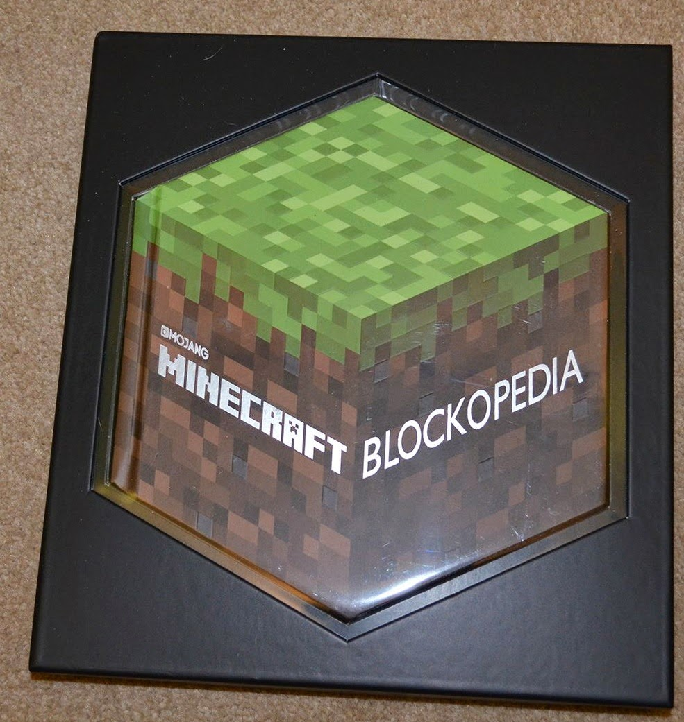 blockopedia hexagonal minecraft book