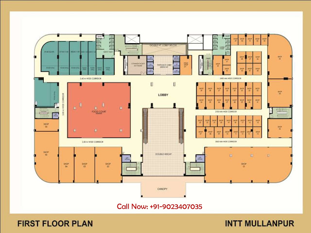 OMAXE INTT Retail Space Mullanpur New Chandigarh