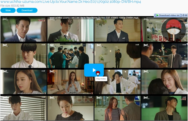 Screenshots Drama Korea Live Up to Your Name, Dr Heo aka Myeongbulheojeon aka Deserving of the Name aka 명불허전 (2017) Episode 07 1080p 720p 480p 360p Subtitle English Indonesia MP4