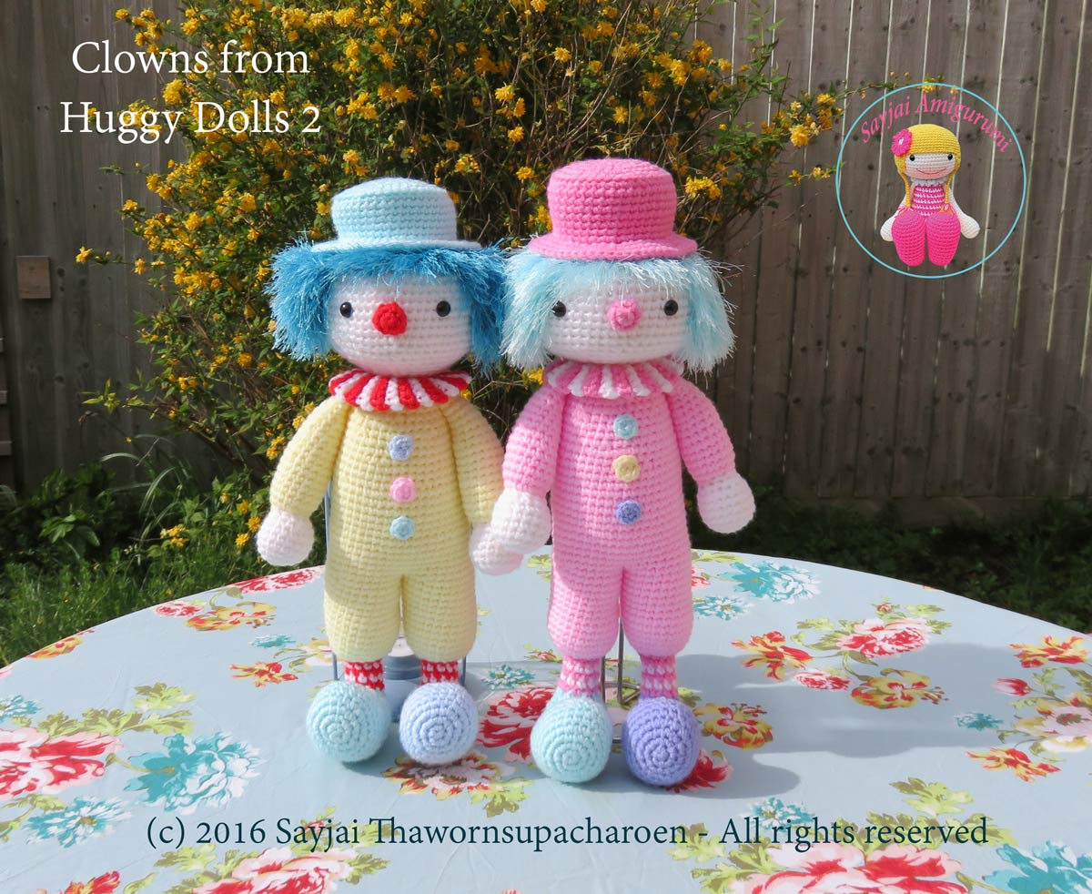 Amigurumi Crochet Books : Huggy dolls 2: kindle e book is ready sayjai amigurumi crochet