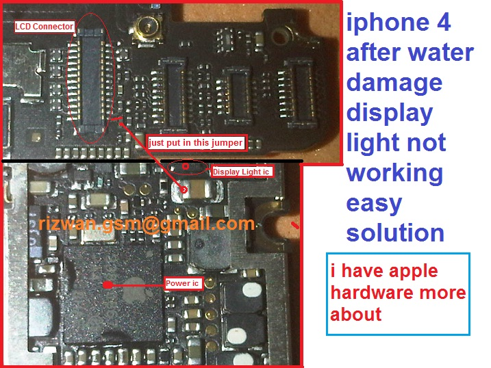 iphone flashlight not working iphone 4 lcd screen light not working solutions need 15265