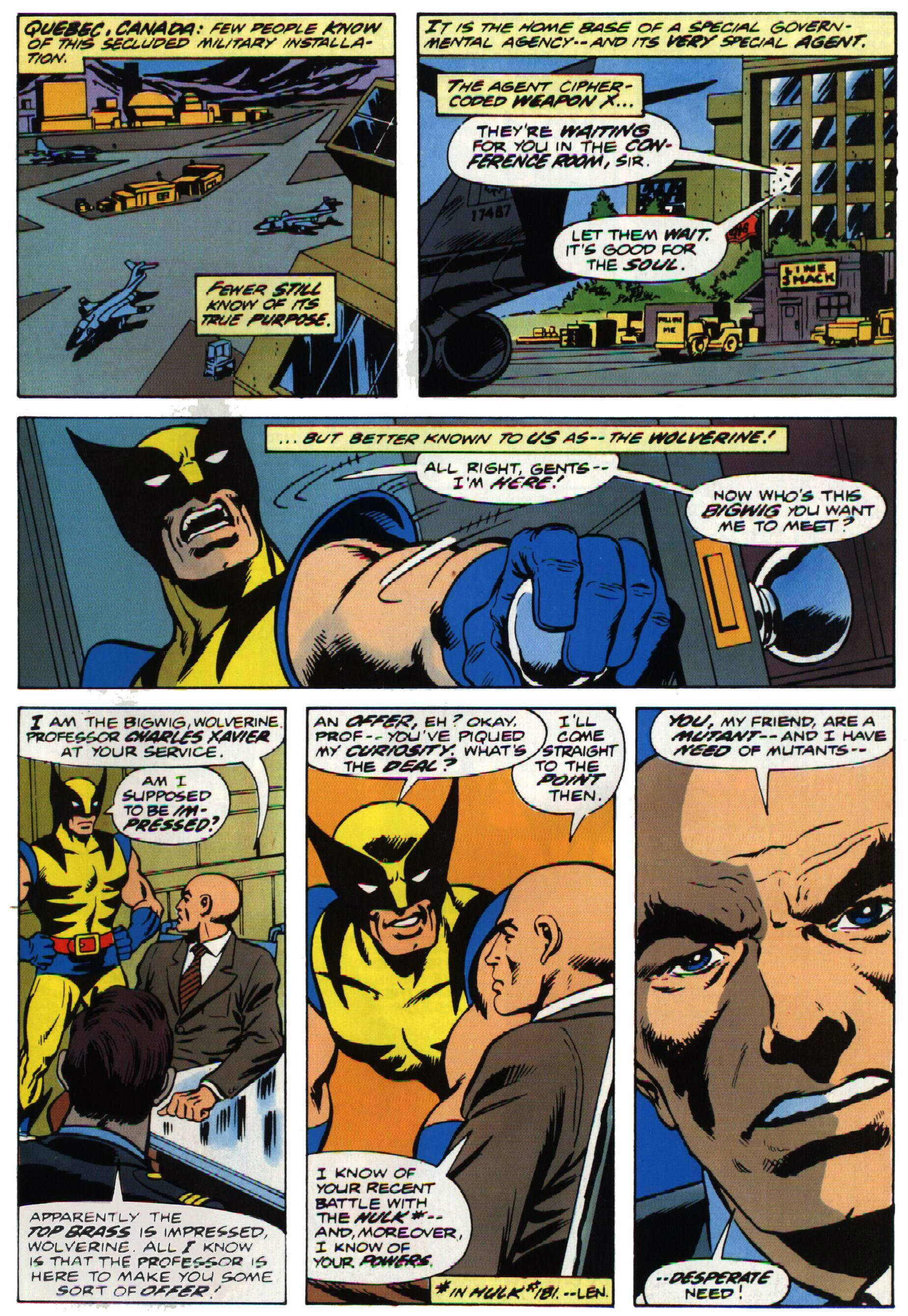 Read online Giant-Size X-Men comic -  Issue #1 - 6