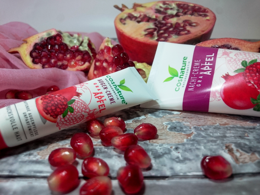 Naturalne odżywienie i ujędrnienie cery z Cosnature - kremy z owocem granatu