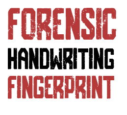 Forensic Handwriting Fingerprint