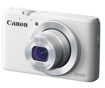 Canon PowerShot S200 digital camera
