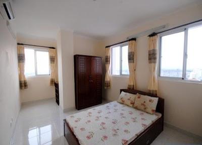 phòng ngủ chung cư mini Vĩnh Phúc