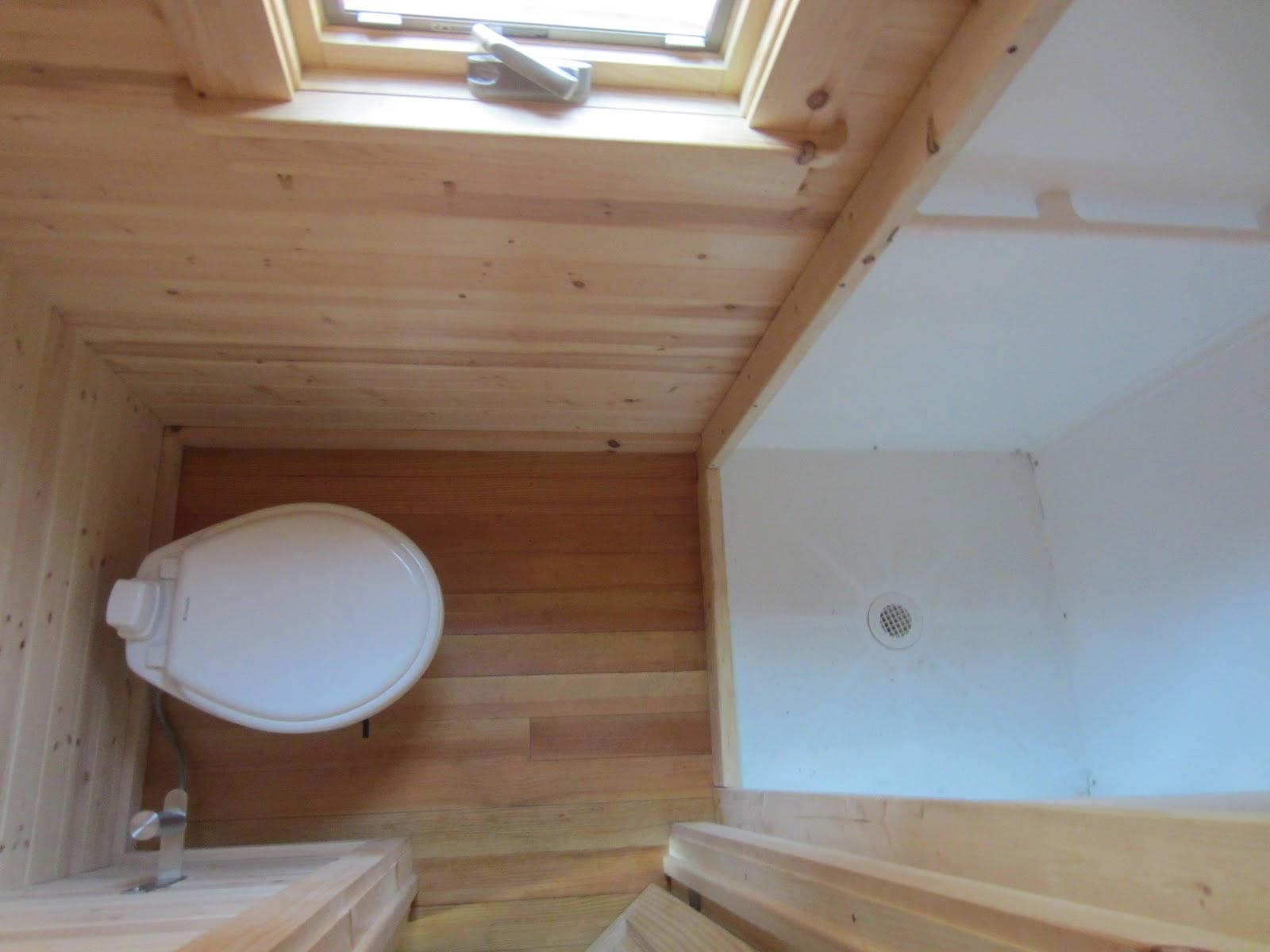 Tiny Home Bathroom Design: Relaxshacks.com: Tiny House/Tumbleweed Fencl Photos From
