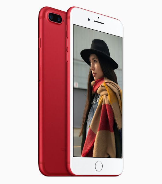 2017 Apple luncurkan iPhone 7/7 Plus Red