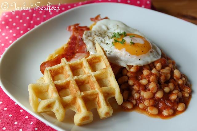 English Breakfast Waffles